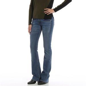Rag & Bone Bootcut Elma Jeans In Blue